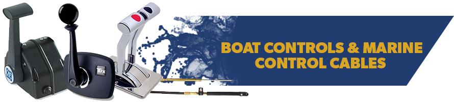 Boat Controls & Marine Control Cables