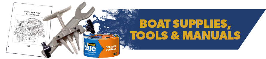 Boat Supplies, Tools & Manuals